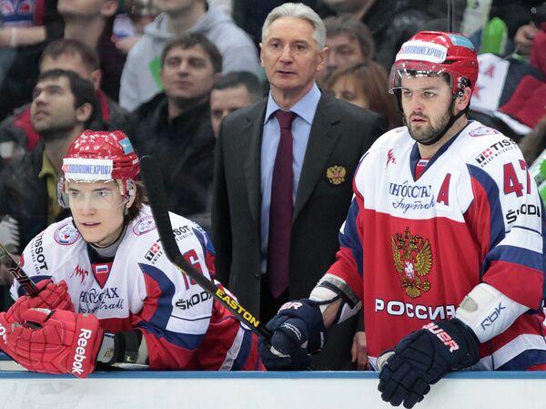 Сергей Плотников, Зинэтула Билялетдинов и Александр Радулов (слева направо)