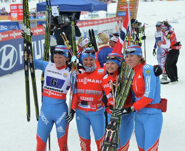 Лыжные гонки. Чемпионат мира. Женщины. Эстафета