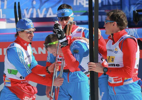 Мужская сборная России по лыжным гонкам