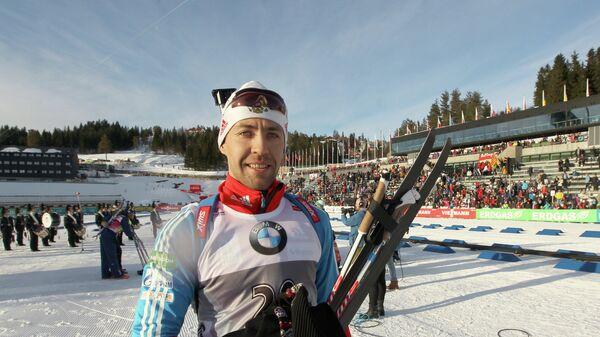 Российский биатлонист Андрей Маковеев