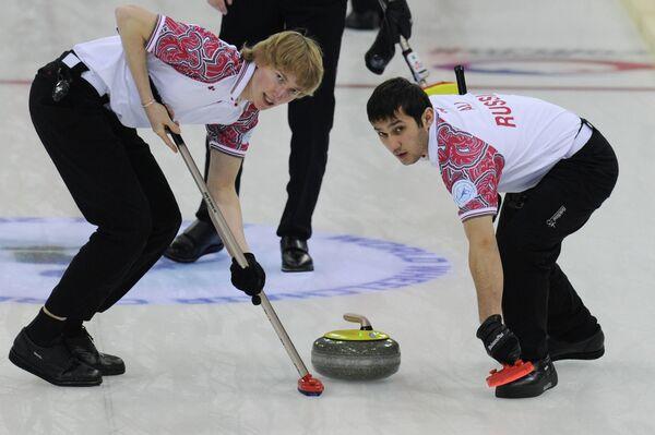 Сергей Глухов (слева) и Артур Али