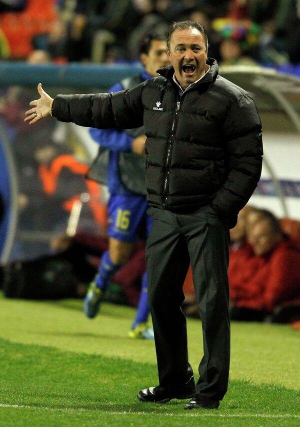 Главный тренер Леванте Хуан Игнасио Мартинес.