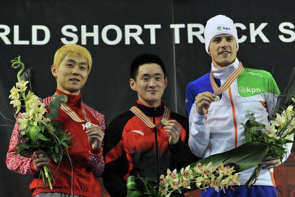 Шорт - трек. Чемпионат мира. 500 метров