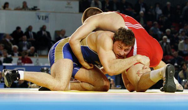 Российский спортсмен Ильяс Бекбулатов