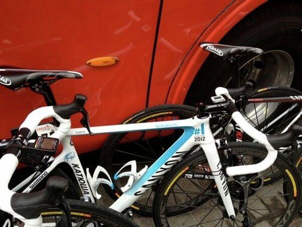 Велосипед команды Катюша