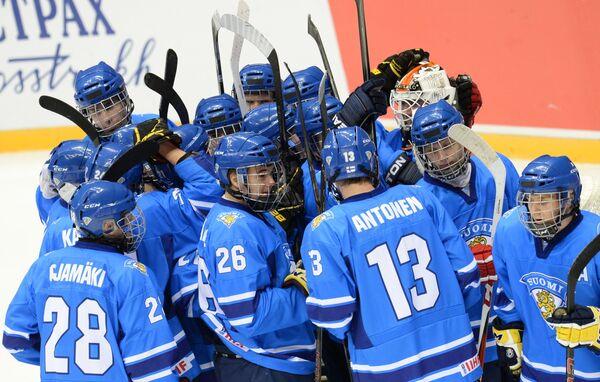 Игроки юниорской сборной Финляндии
