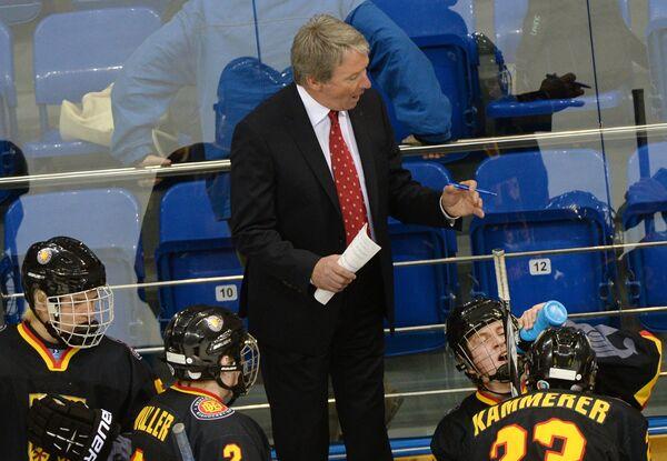 Главный тренер юниорской сборной Германии Джим Сеттерс