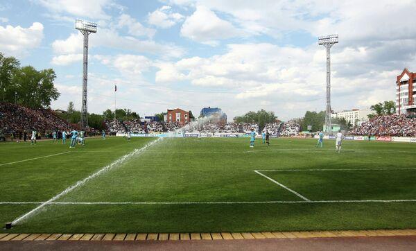 Стадион Труд в Томске
