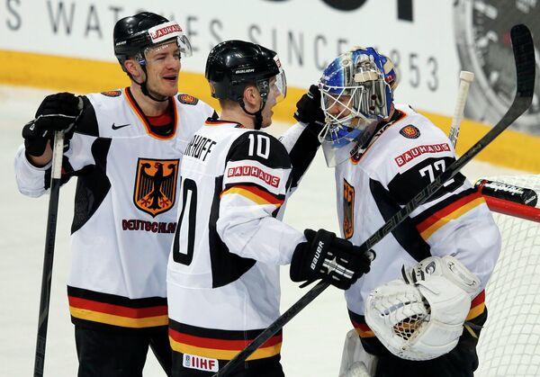 Хоккеисты Германии