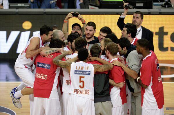 Баскетболисты Олимпиакоса