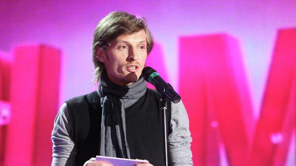 Павел Воля после церемонии вручения премии Женщина года Glamour 2009