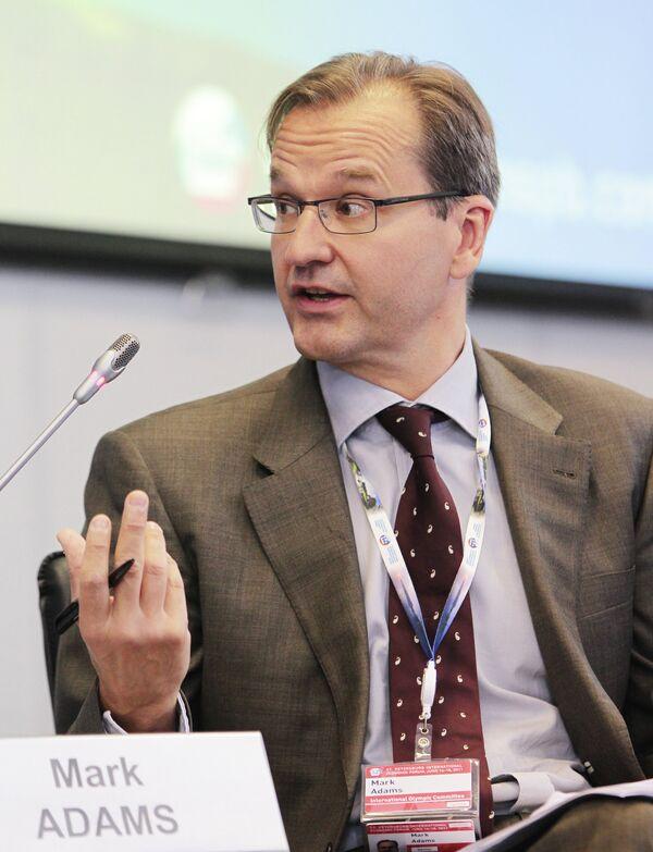 Директор по коммуникациям Международного олимпийского комитета Марк Адамс