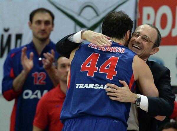 Теодорос Папалукас и Этторе Мессина