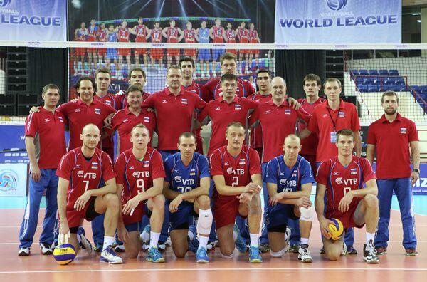 Сборная команда России по волейболу