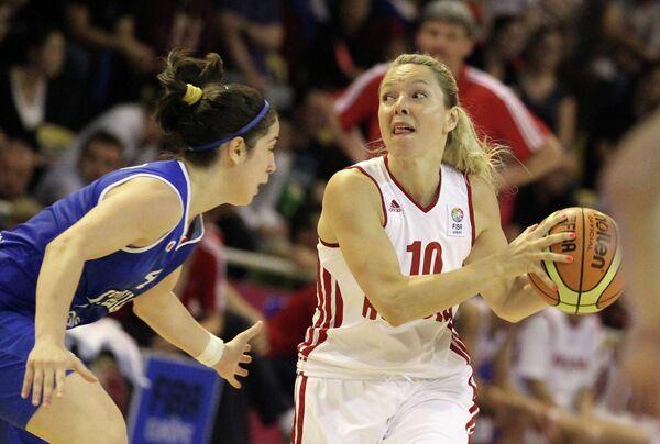 Баскетбол. Чемпионат Европы. Женщины. Матч Россия - Италия