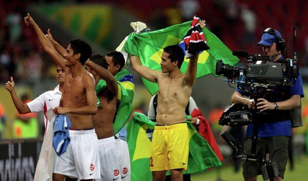 Футболисты Таити