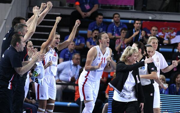 Главный тренер женской сборной Сербии по баскетболу Марина Малкович