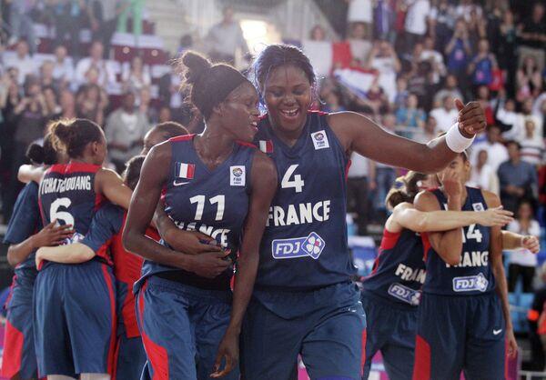 Баскетболистки Франции