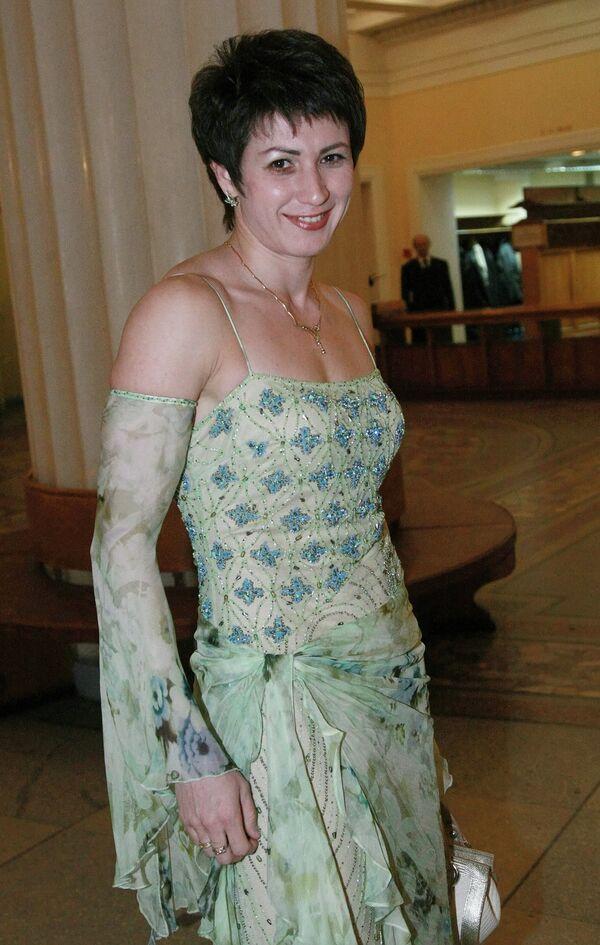 Татьяна Лебедева на церемонии вручения Национальной спортивной премии СЛАВА