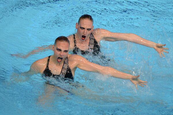 Универсиада. 3-й день. Синхронное плавание. Дуэты. Финал