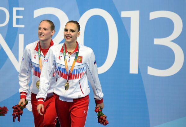 Светлана Колесниченко и Светлана Ромашина (Россия)
