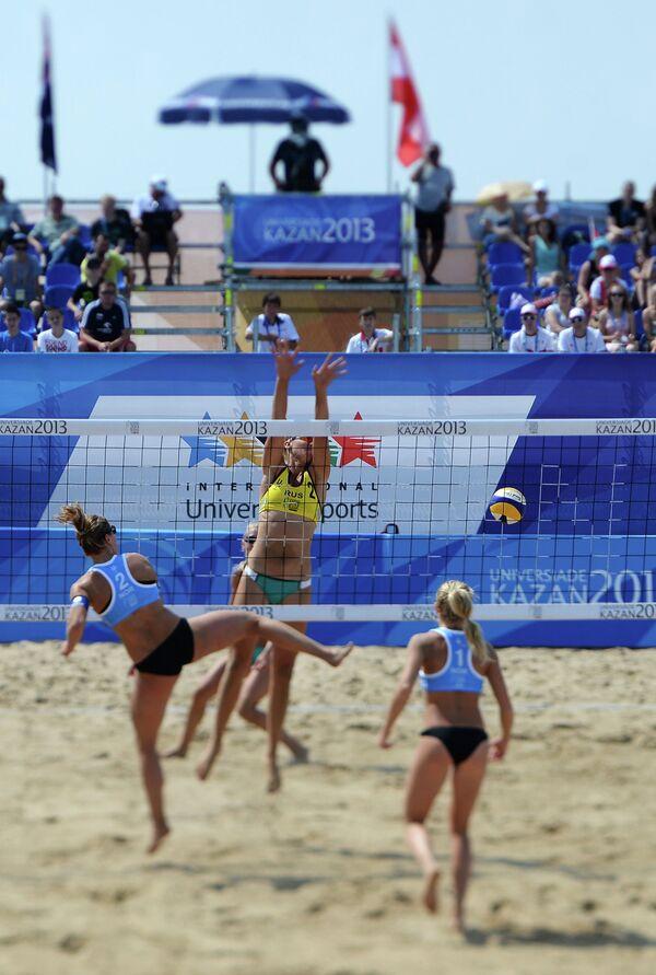 Универсиада. 4-й день. Пляжный волейбол. Женщины