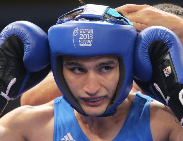 Российский спортсмен Адлан Абдурашидов