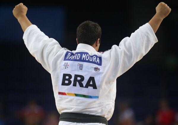 Бразильский спортсмен Давид Сильва