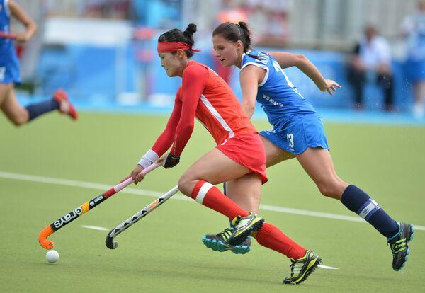 Универсиада. Хоккей на траве. Женщины. Матч Россия - Корея