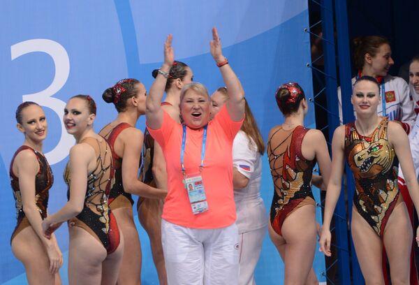 Татьяна Покровская (на первом плане)