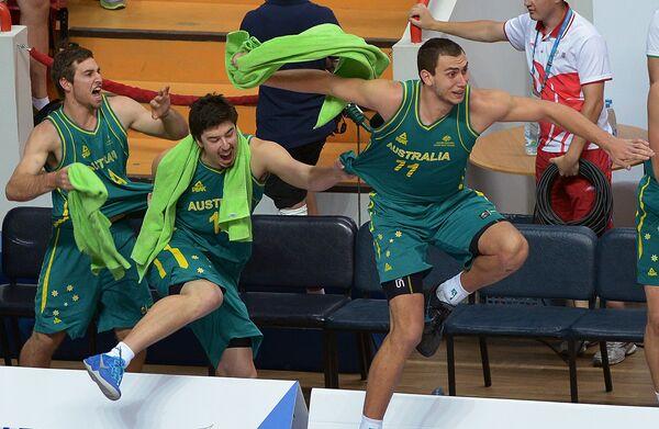 Игрок сборной Австралии