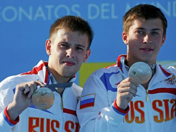 Россияне Виктор Минибаев и Артем Чесаков (справа)