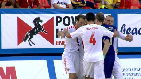 Сборная РФ по пляжному футболу обыграла команду Германии. Лучшие моменты матча