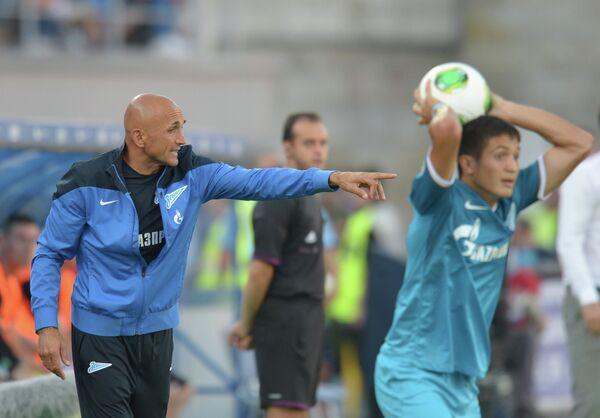 Лучано Спаллетти (слева)