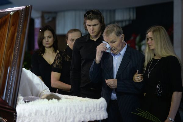Прощание с Василием Тихоновым
