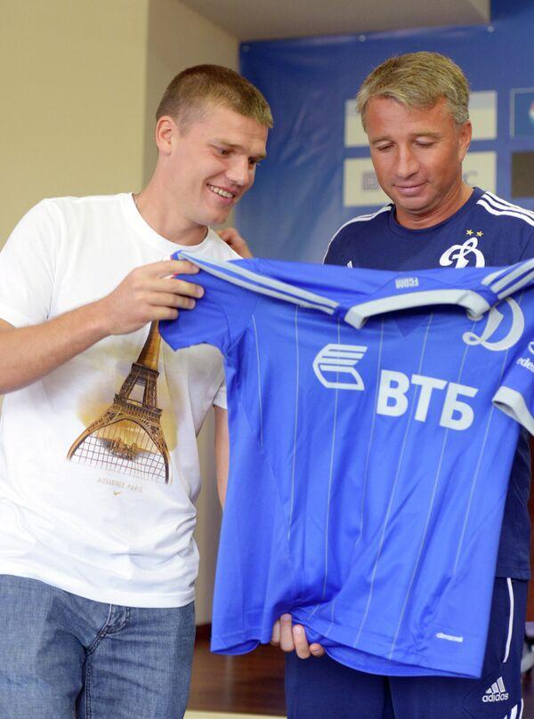 Игорь Денисов (слева) и Дан Петреску