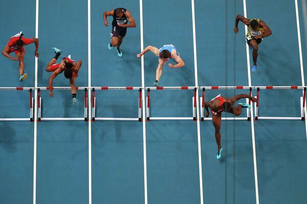 Легкая атлетика. Чемпионат мира. 3-й день. Вечерняя сессия