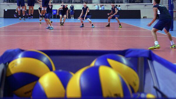 Волейбольные мячи. Заглушка.