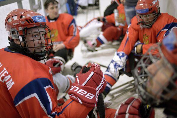 Игроки национальной команды России