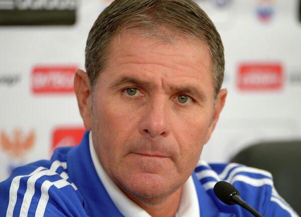 Главный тренер сборной Израиля по футболу Эли Гутман