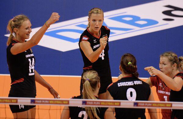 Волейболистки сборной Германии