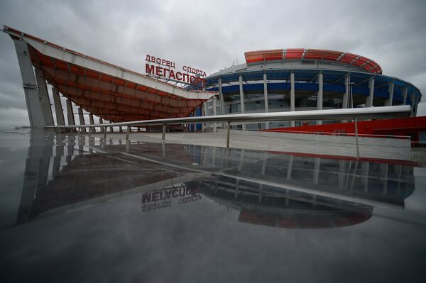 Дворец спорта Мегаспорт на Ходынском поле