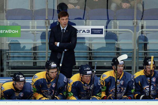 Исполняющий обязанности главного тренера Атланта Алексей Кудашов