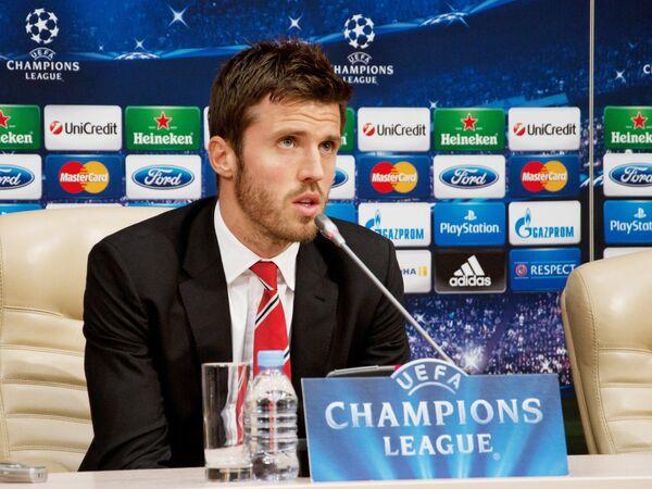 Пресс-конференция ФК Манчестер Юнайтед