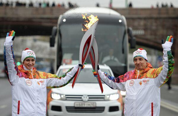 Гульнара Пенькова и Александр Катушев