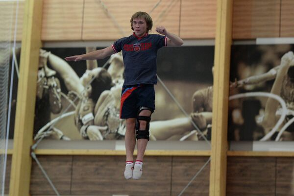 Российский спортсмен Павел Кротов