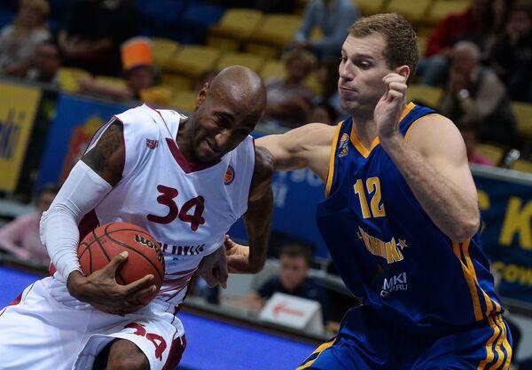 Баскетбол. Единая Лига ВТБ. Матч БК Химки - БК Красные Крылья