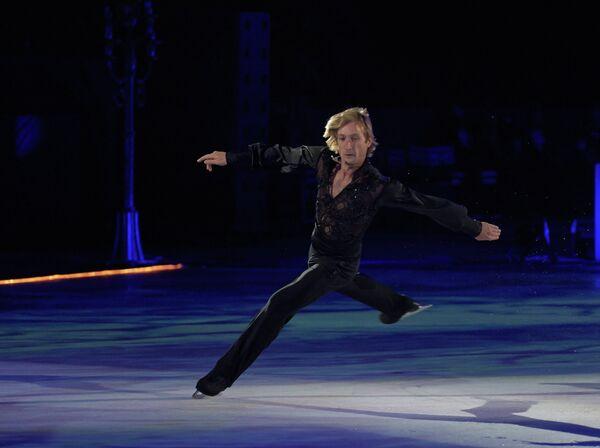 Олимпийский чемпион Евгений Плющенко