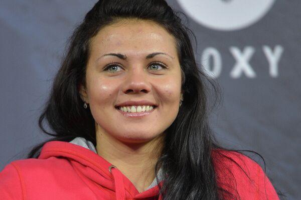 Российская сноубордистка Екатерина Илюхина
