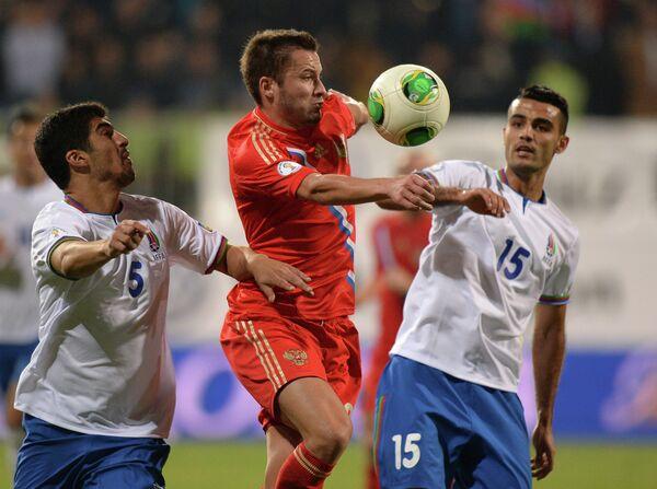 Виктор Файзулин (в центре), Эльнур Аллахвердиев (слева) и Руслан Абышов